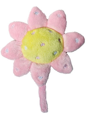 Pink Sunshine Sunflower Plush Dog Toy - Ruff Ruff Couture