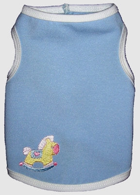 Baby Blue Tank - Ruff Ruff Couture