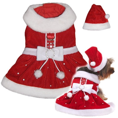 Santa Paws Dress - Pooch Outfitters