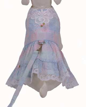 Southern Doggie Harness Dress - Cha-Cha Couture
