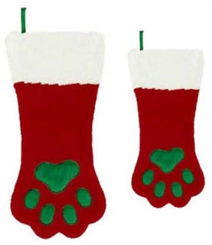 Christmas Paw Stocking - Plush Puppies