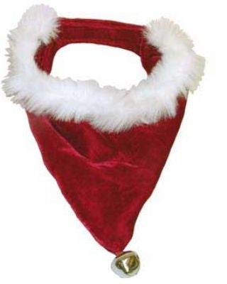 Red & White Santa Bandanna