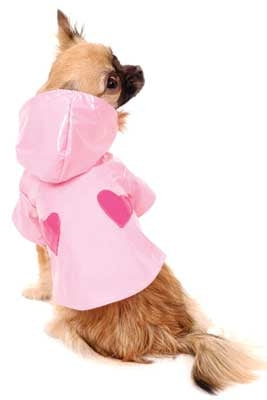 Sweet Heart Dog Raincoat - Cha-Cha Couture