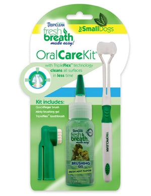 Tropiclean: Fresh Breath Oral Care Kit