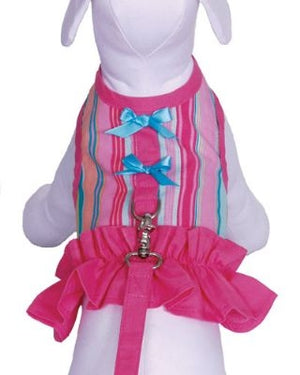 Tutti Frutti Dog Harness Dress - Cha-Cha Couture