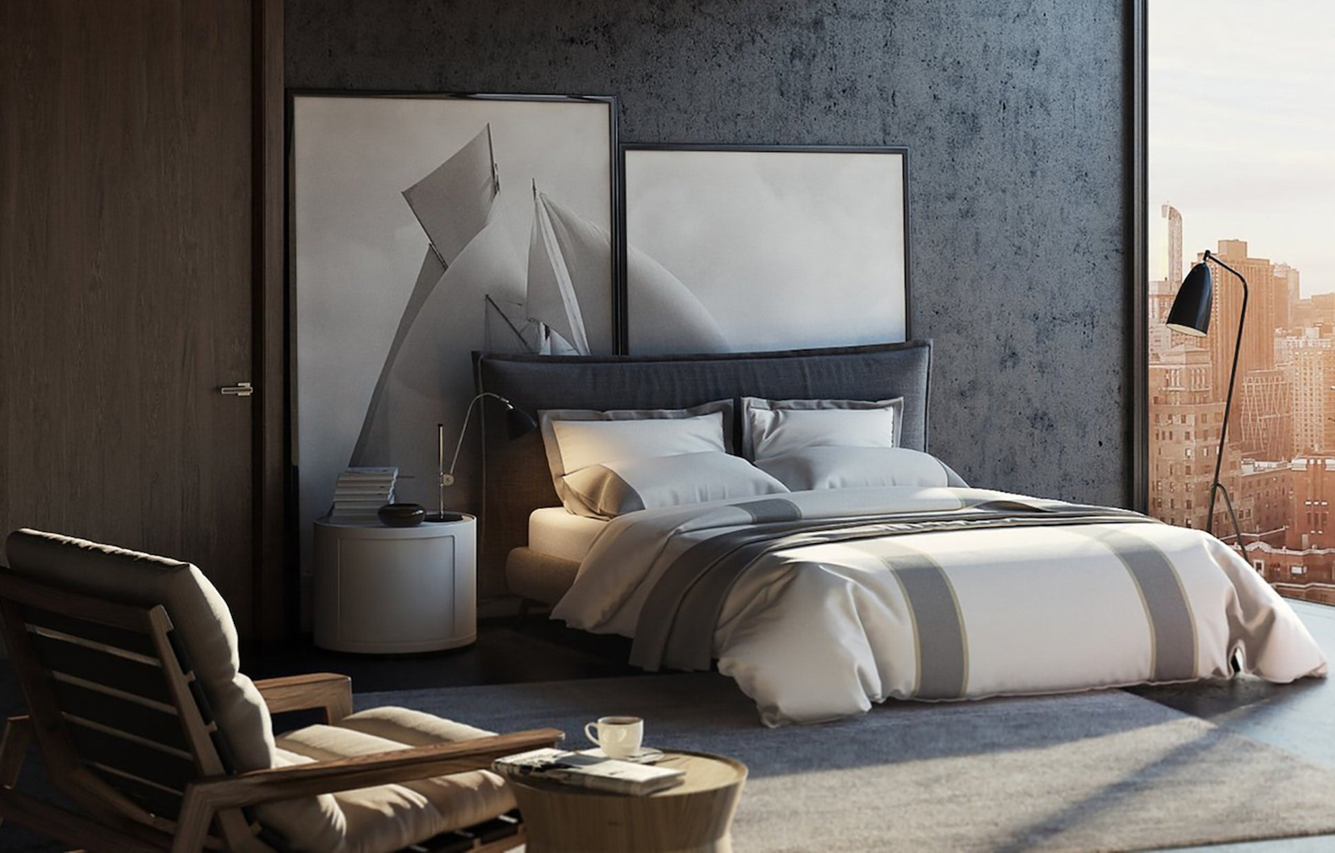Elegant Strand featured in Dering Hall: Behind the Design: Elegant Strand Bedding