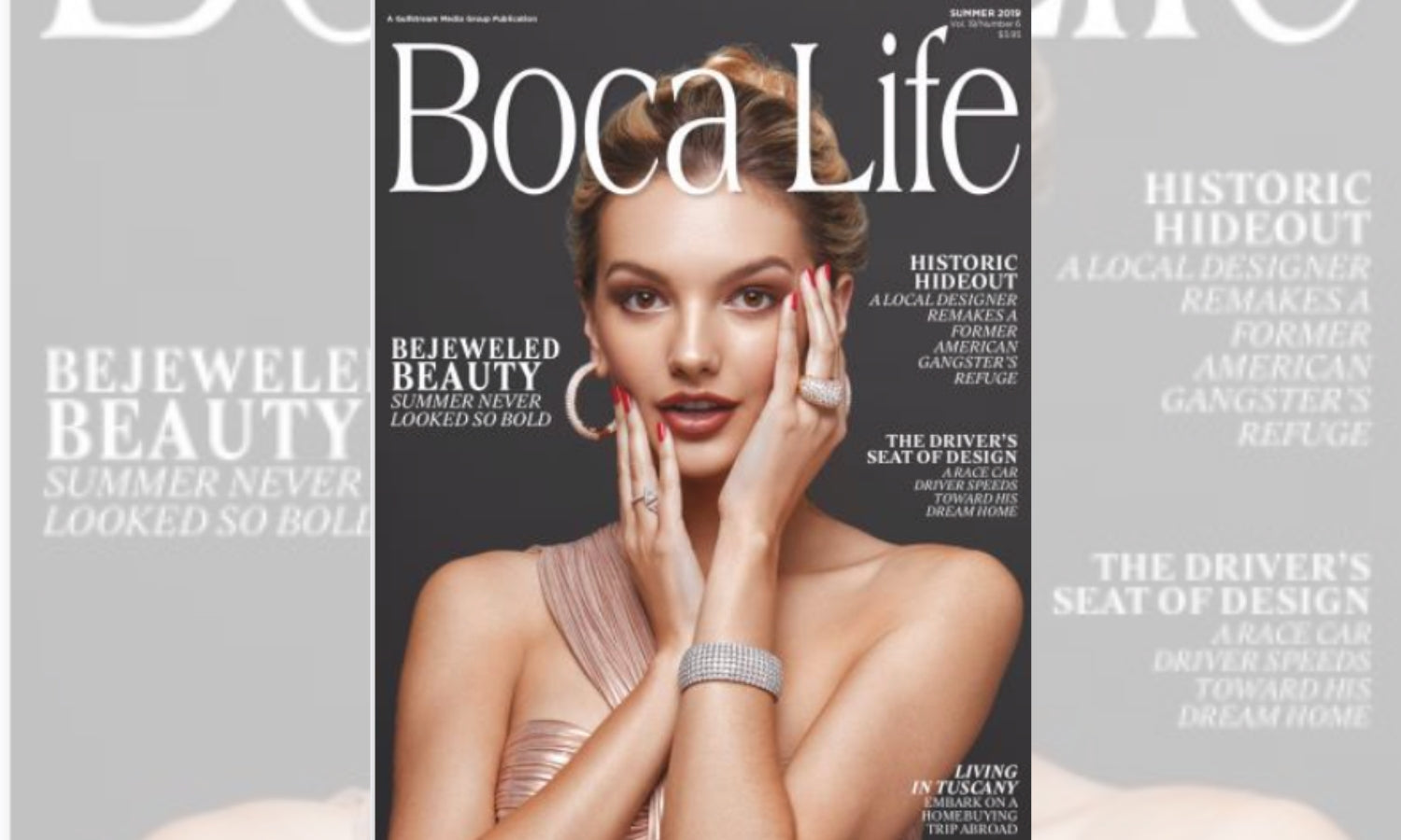 Elegant Strand featured in Boca Life