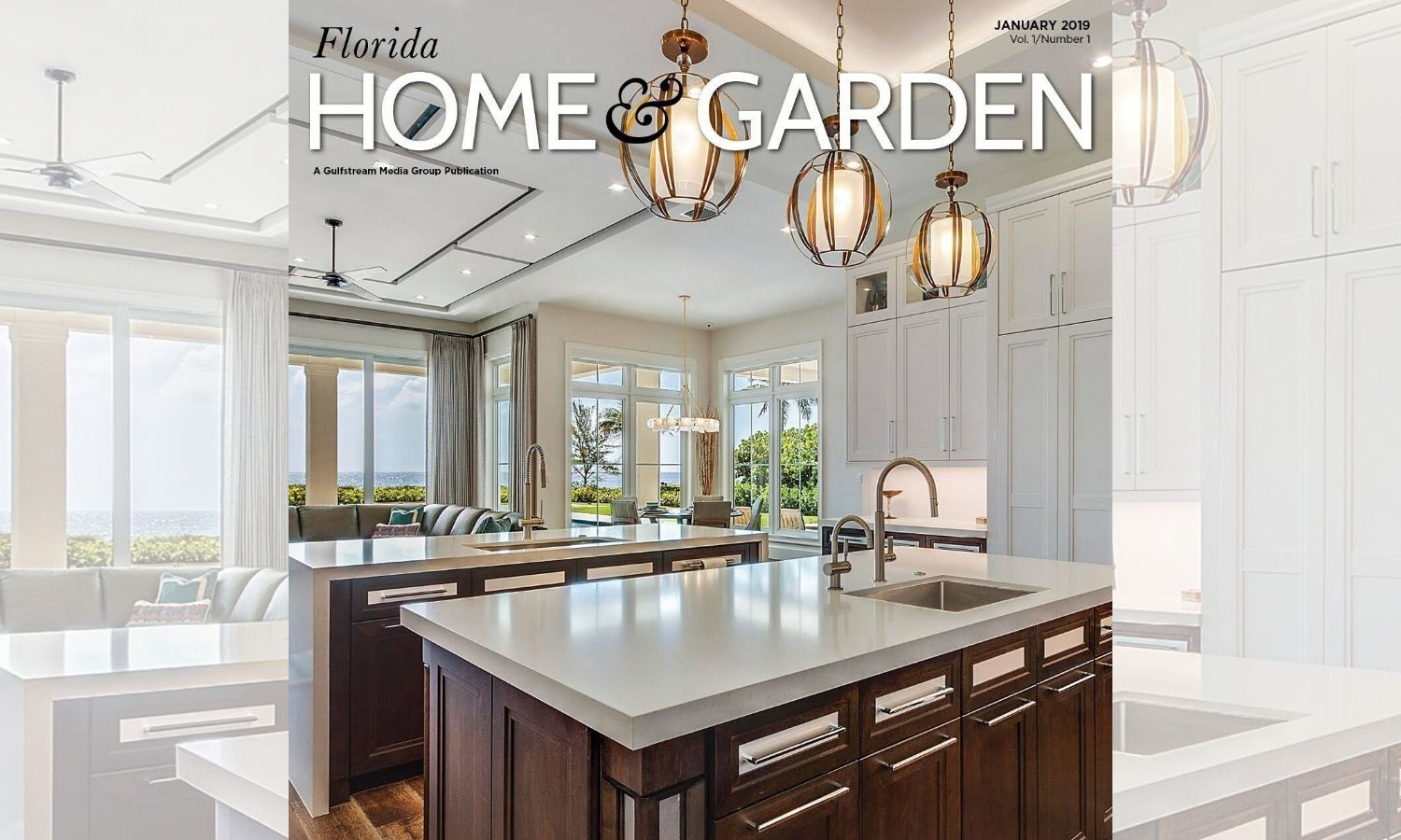 Elegant Strand featured in Florida Home & Garden: PREMIER DESIGN PORTFOLIOS