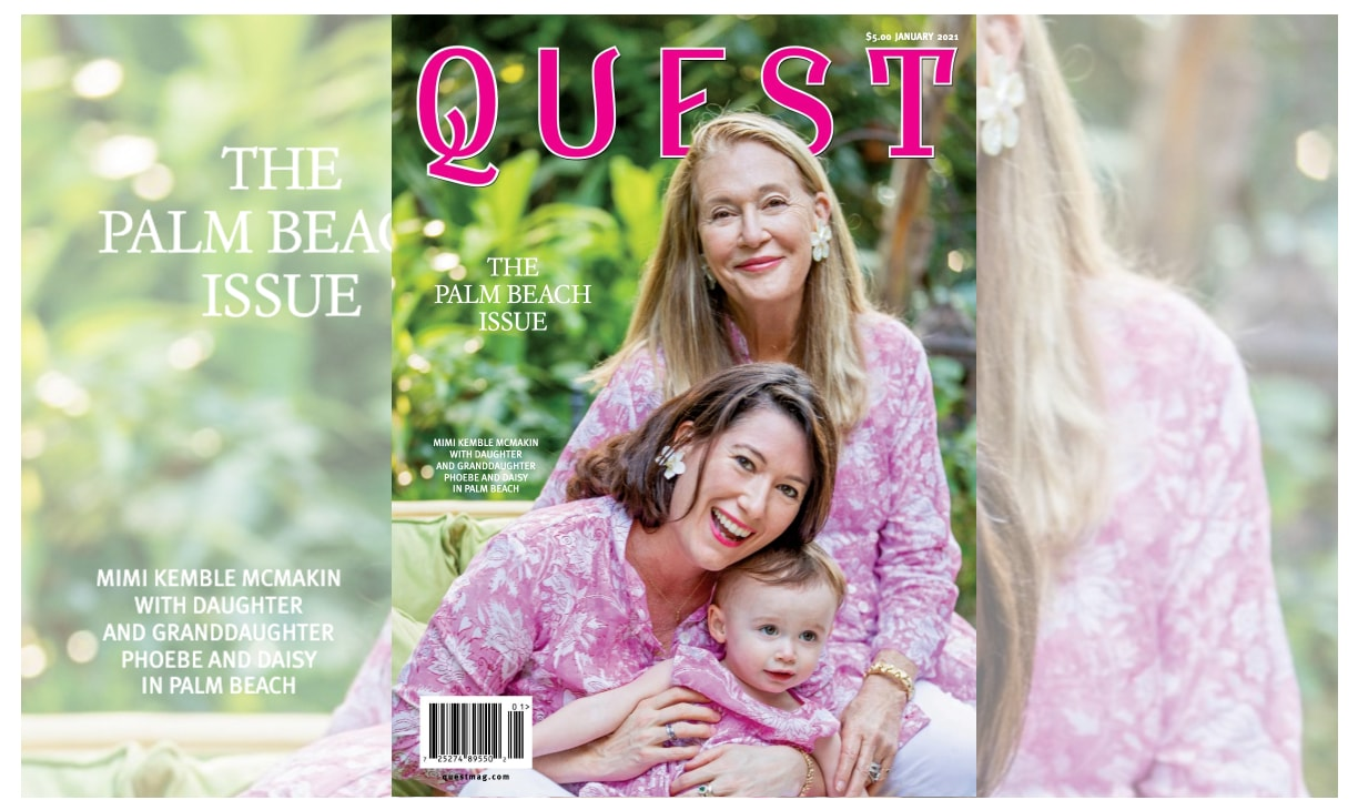 Elegant Strand Featured in Quest Magazine