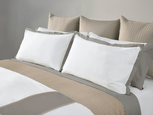 MONTE CARLO BANDED DUVET COVER