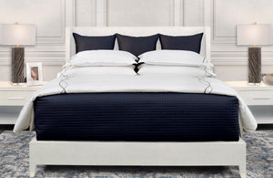 Quilted Coverlet & Sham Color Swatch Atlantico