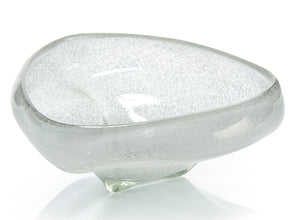 Sea Foam Glass Bowl
