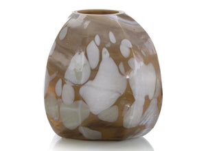 Dappled Brown Vase I