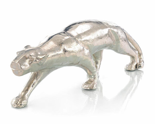 Black Panther Sculpture in Nickel I