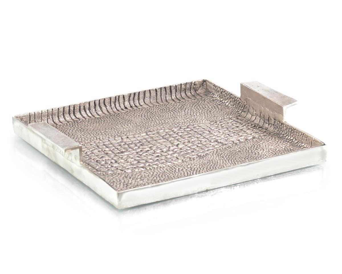 Alligator Textured Aluminum Tray II