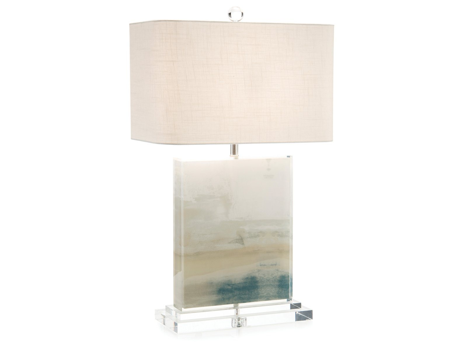 Slated Table Lamp