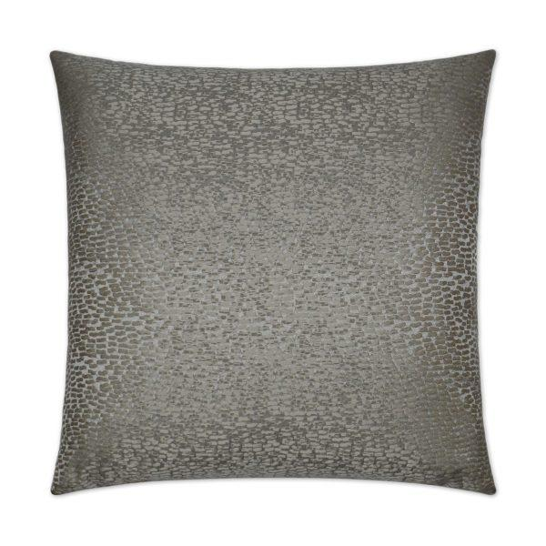 Joy - Silver Decorative Pillow