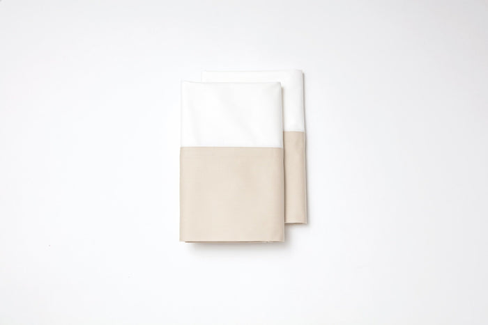 Monte Carlo Pillowcase Set Limestone