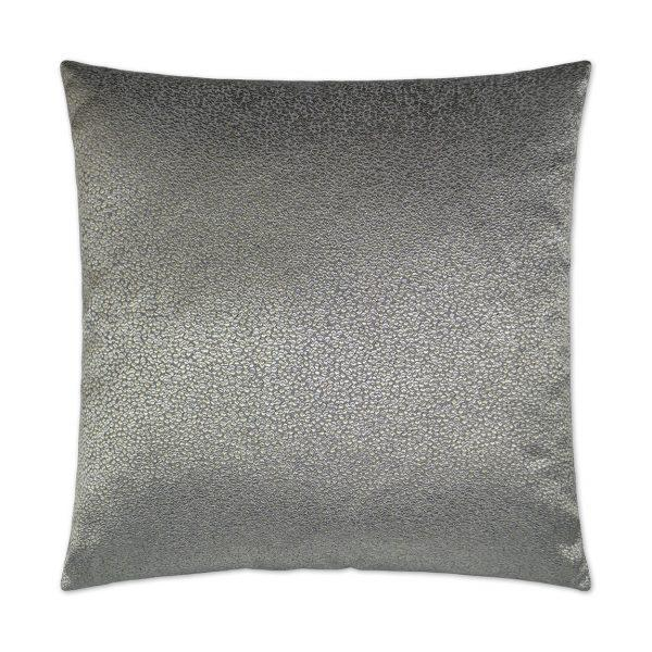Pebble Rebel - Graphite Decorative Pillow