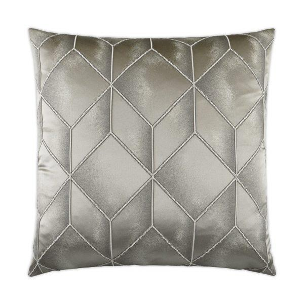 Social Call - Mink Decorative Pillow