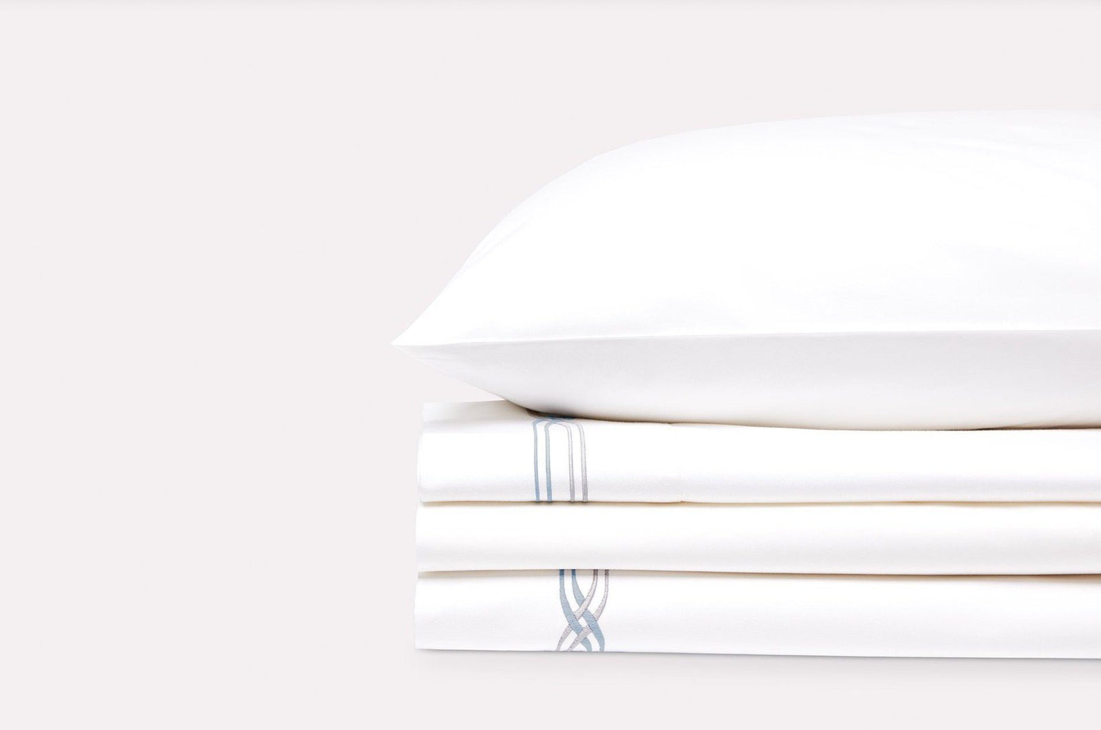 Saint Tropez Sheet Set_sky mercury