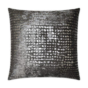 Stealth - Pewter Decorative Pillow