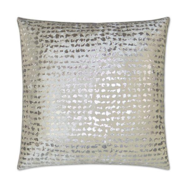 Stealth - White Decorative Pillow