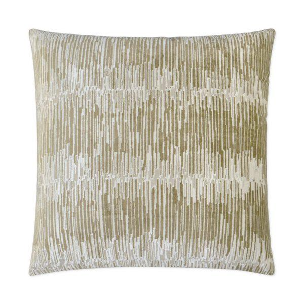 Techno - Gilt Decorative Pillow