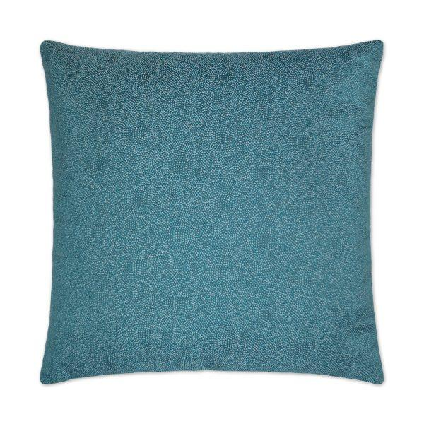 Whimsical - Teal Decorative Pillow