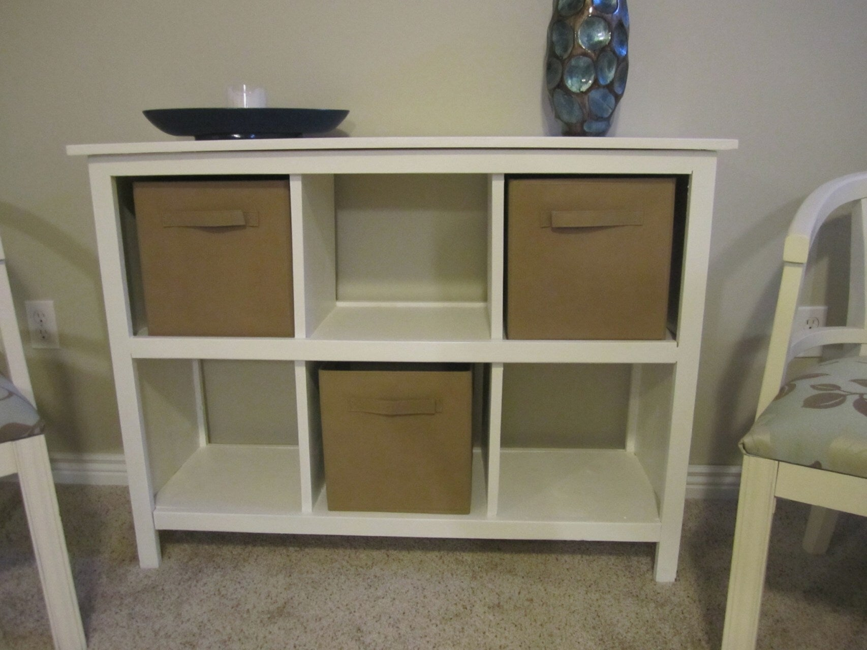 Picture of: On A Budget White Cube Shelves Flexiplan Online