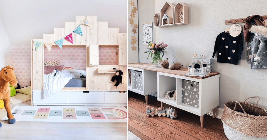Got kids? Then, you're probably looking for decorating ideas to make the most of your kids room