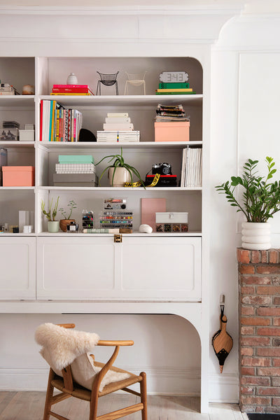 How a Couple Created Storage Space From Scratch in Their Brooklyn Apartment