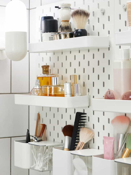 Pegboards are such versatile organizational tools