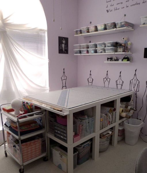 Hacks and ideas to solve your craft room storage woes.
