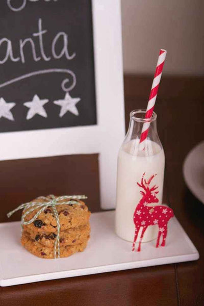 Scenic Milk And Cookies For Santa