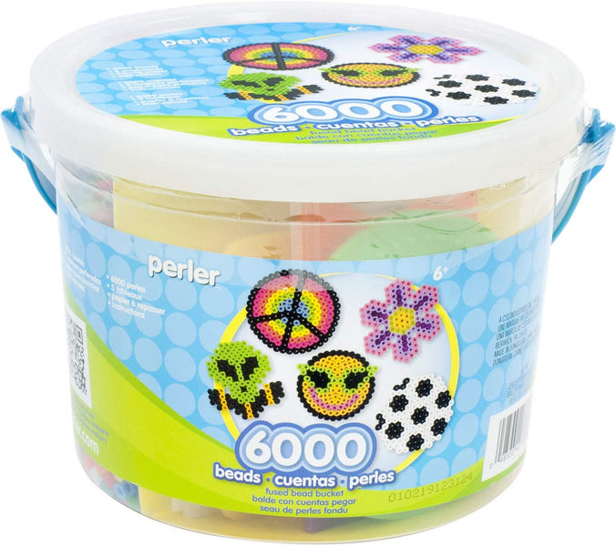 Perler Multi Mix Assorted Fuse Bead Bucket, 6000 Pieces – Only $8.82!