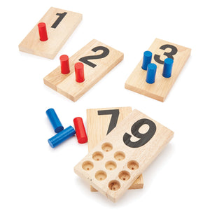 Number Peg Boards, Age 3-7, Set