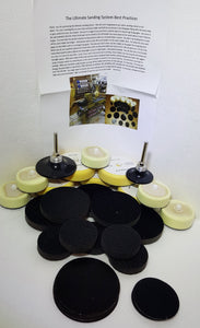 "Ultimate 2"" and 3"" Sanding Kit + 2"" and 3"" Wonder Weave Sanding Discs"