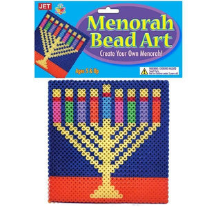 Bead Art - Menorah