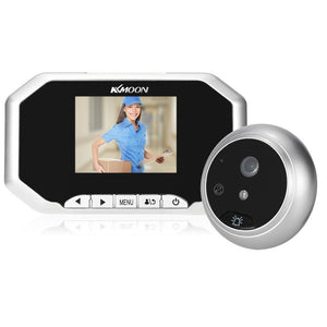 "KKmoon  3""  LCD 720P Digital Peephole Viewer 160° Door Eye Doorbell HD IR Camera Night Vision Photo Taking/Video Recording for Home Security"