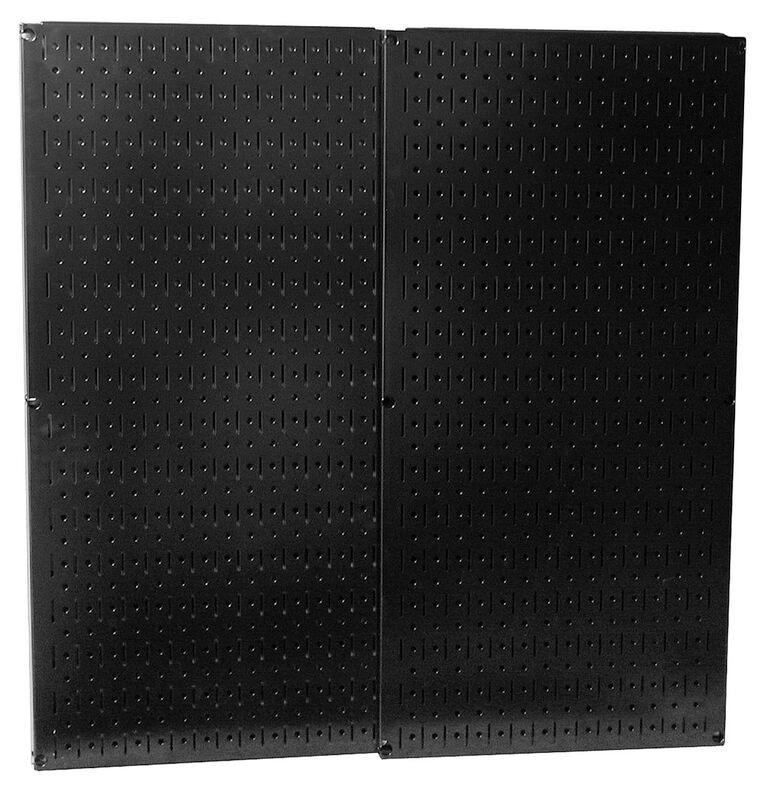 Black Metal Pegboard Pack - Two 16