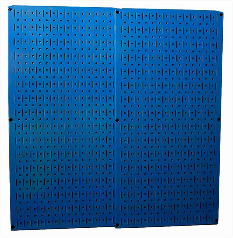 Blue Metal Pegboard Pack - Two 16