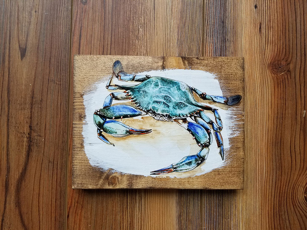 5x7-crab Artwork