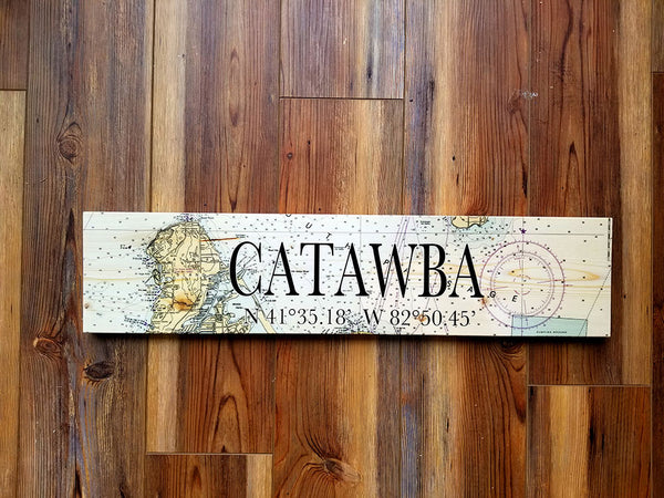 Catawba, OH Coordinate Sign