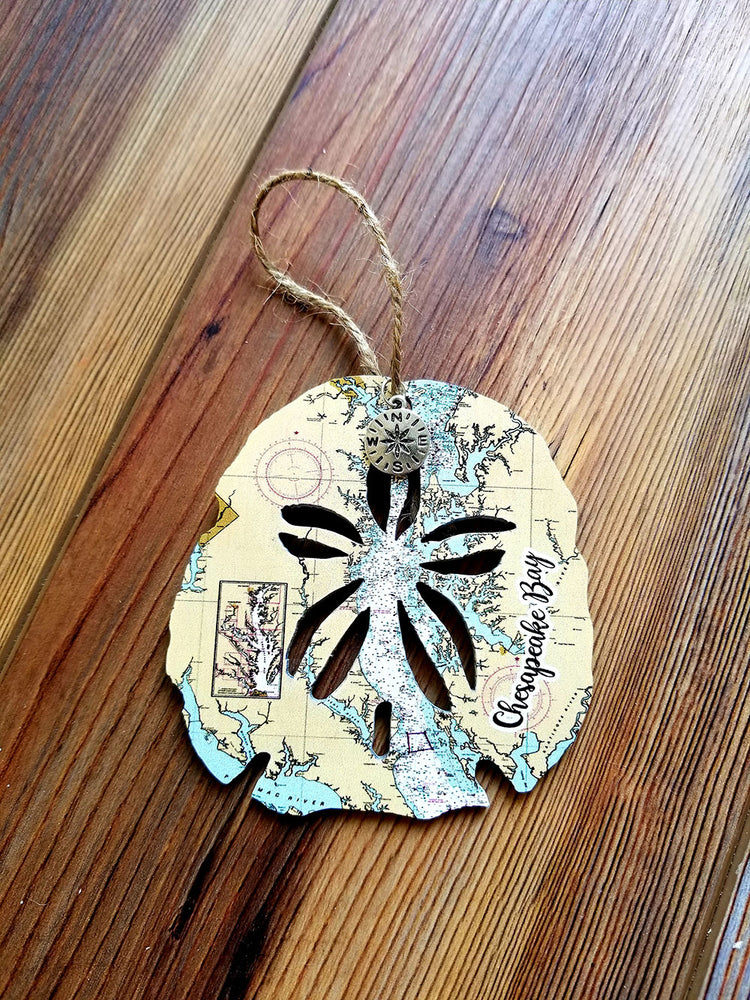 Chesapeake Bay Sanddollar Ornament