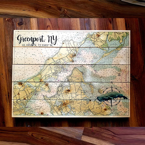Greenport, NY Pallet Map