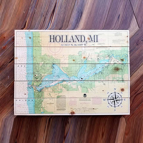 Holland, MI Pallet Map