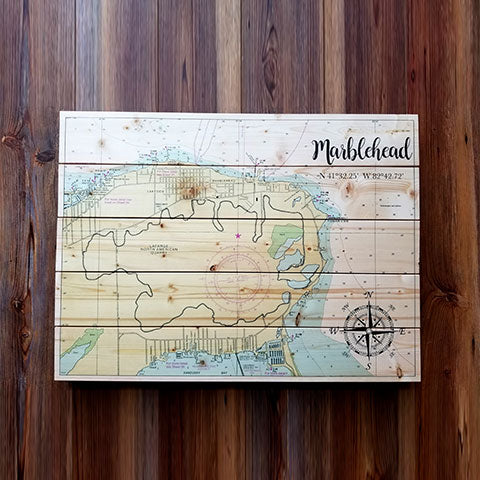 Marblehead, OH Pallet Map