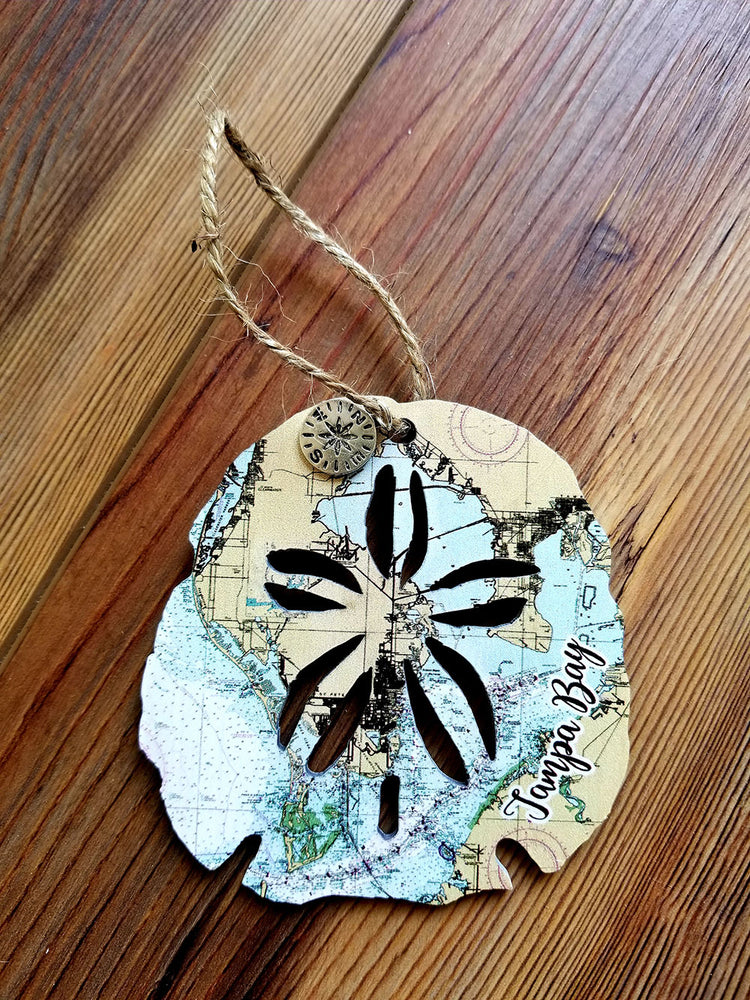 Tampa Bay, FL Sanddollar Ornament