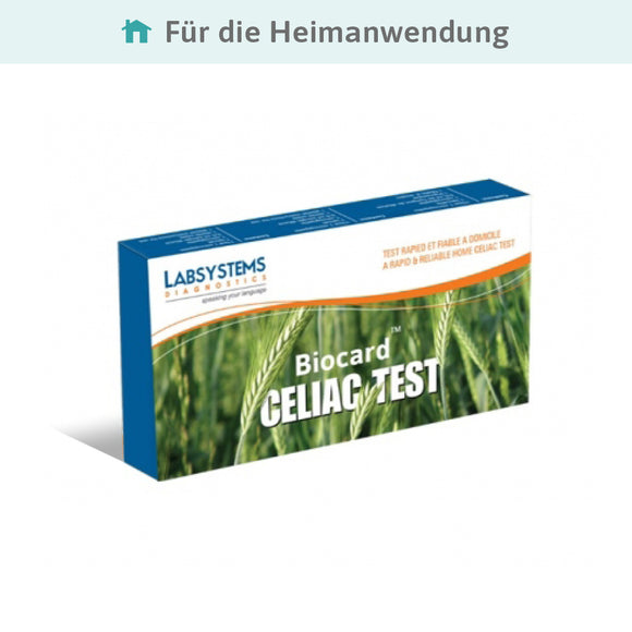Zöliakie Biocard™ Celiac Home-Test* - Preventis GmbH